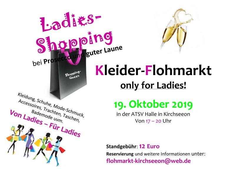 Ladiesflohmarkt 2019