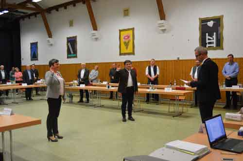 Konstituierende Sitzung 1