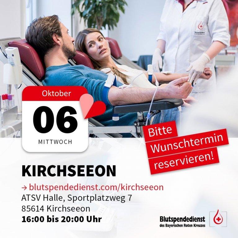 Blutspenden Oktober 2021